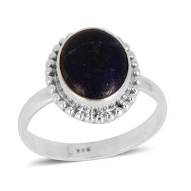 Lapis Lazuli (Ovl) Ring in Sterling Silver 2.880 Ct.