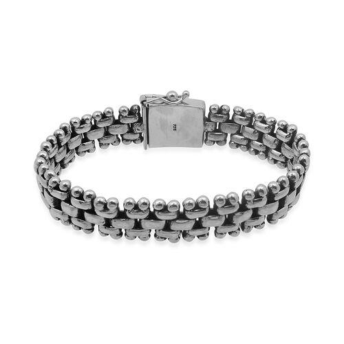 Royal Bali Collection Sterling Silver Bracelet (Size 8.5), Silver wt 67.20 Gms.