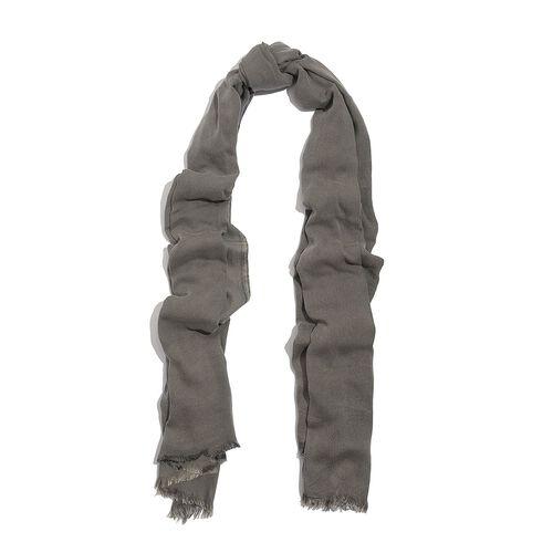 100% Rayon Pareo - Grey Colour (Size 190x120 Cm)