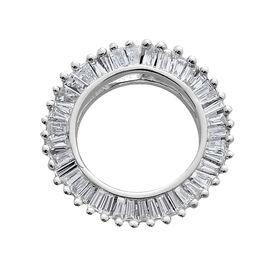 ILIANA 18K W Gold IGI Certified Diamond (Bgt) (SI/G-H) Pendant 0.500 Ct.