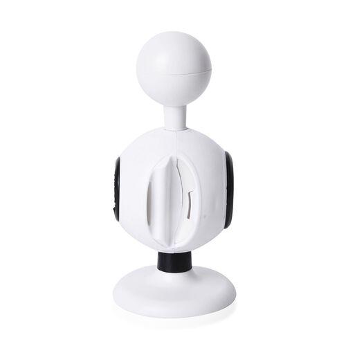 White Colour Multi - Purpose 8 in 1 Bottle Opener (Size 15x7 Cm)