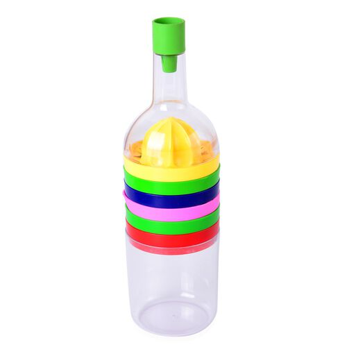 Bottle Shape 8 in 1 Multi Utility Kitchen Tool Set (Size 29.21X7.62 Cm)