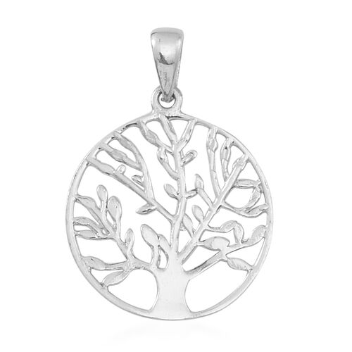 Thai Sterling Silver Tree Pendant