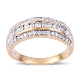 ILIANA 18K Y Gold IGI Ceritfied Diamond (VS-SI/G-H) (Rnd) Ring 1.000 Ct.