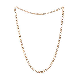 Close Out Deal 14K Y Gold Figaro Chain (Size 20), Gold wt 7.05 Gms.