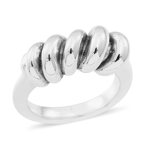 Thai Sterling Silver Ring, Silver wt 5.82 Gms.