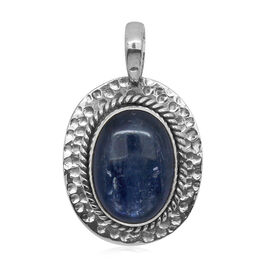Royal Bali Collection Himalayan Kyanite (Ovl) Pendant in Sterling Silver 12.590 Ct.