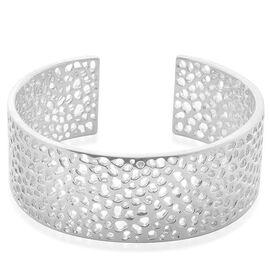 RACHEL GALLEY Sterling Silver Enkai Sun Cuff Bangle (Size 7.5), Silver wt 59.00 Gms.