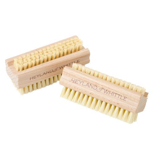 Heyland and Whittle Home Organic Soap Orient 150g and Wooden Sisal Brush