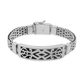 Royal Bali Collection Sterling Silver Bracelet (Size 8.5), Silver wt 63.91 Gms.