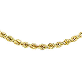 JCK Vegas Collection 9K Y Gold Rope Chain (Size 22), Gold wt 4.90 Gms.