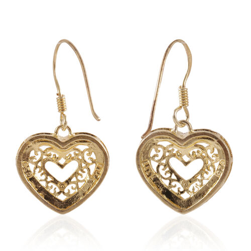 JCK Vegas Collection Sterling Silver Hook Earrings