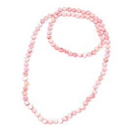 Pink Shell Beads Necklace (Size 46) 399.500 Ct.
