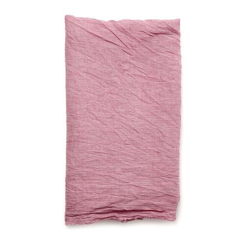 100% Cotton Pink Colour Printed Scarf (Size 220x100 Cm)