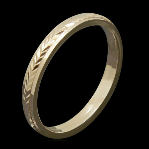 JCK Vegas Collection 9K R Gold Band Ring