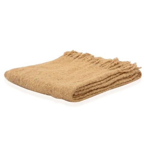 Sand Colour Scarf (Size 60x190 Cm)