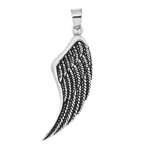 Thai Sterling Silver Wing Pendant, Silver wt 5.59 Gms.