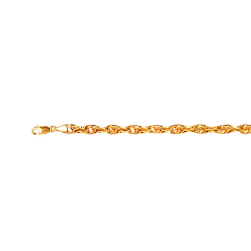 JCK Vegas Collection ILIANA 18K Y Gold Prince of Wales Bracelet (Size 7.5), Gold wt 5.42 Gms.