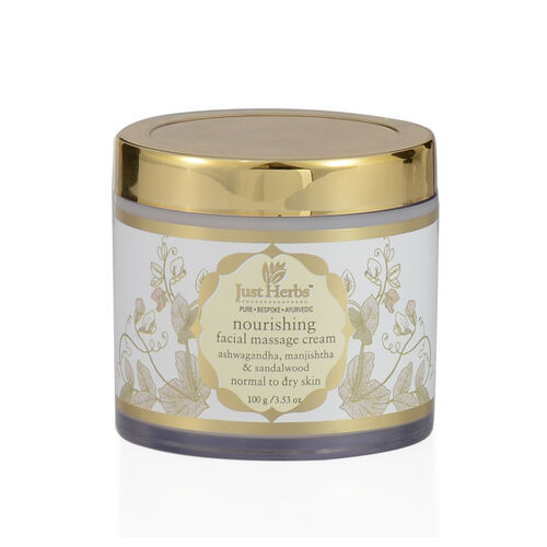 Just Herbs Herbal Nourishing Massage Cream (100g)