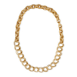 Necklace (Size 34) in Gold Tone