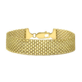 Close Out Deal Italian 9K Y Gold Bismark Bracelet (Size 8), Gold wt 9.50 Gms.