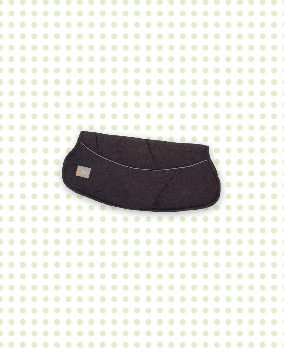 Handwärmer Fuji Melange schwarz