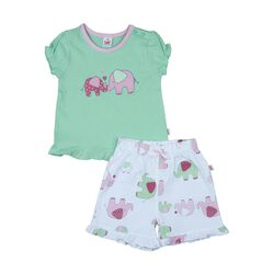 T-Shirt & Shorts Elefant