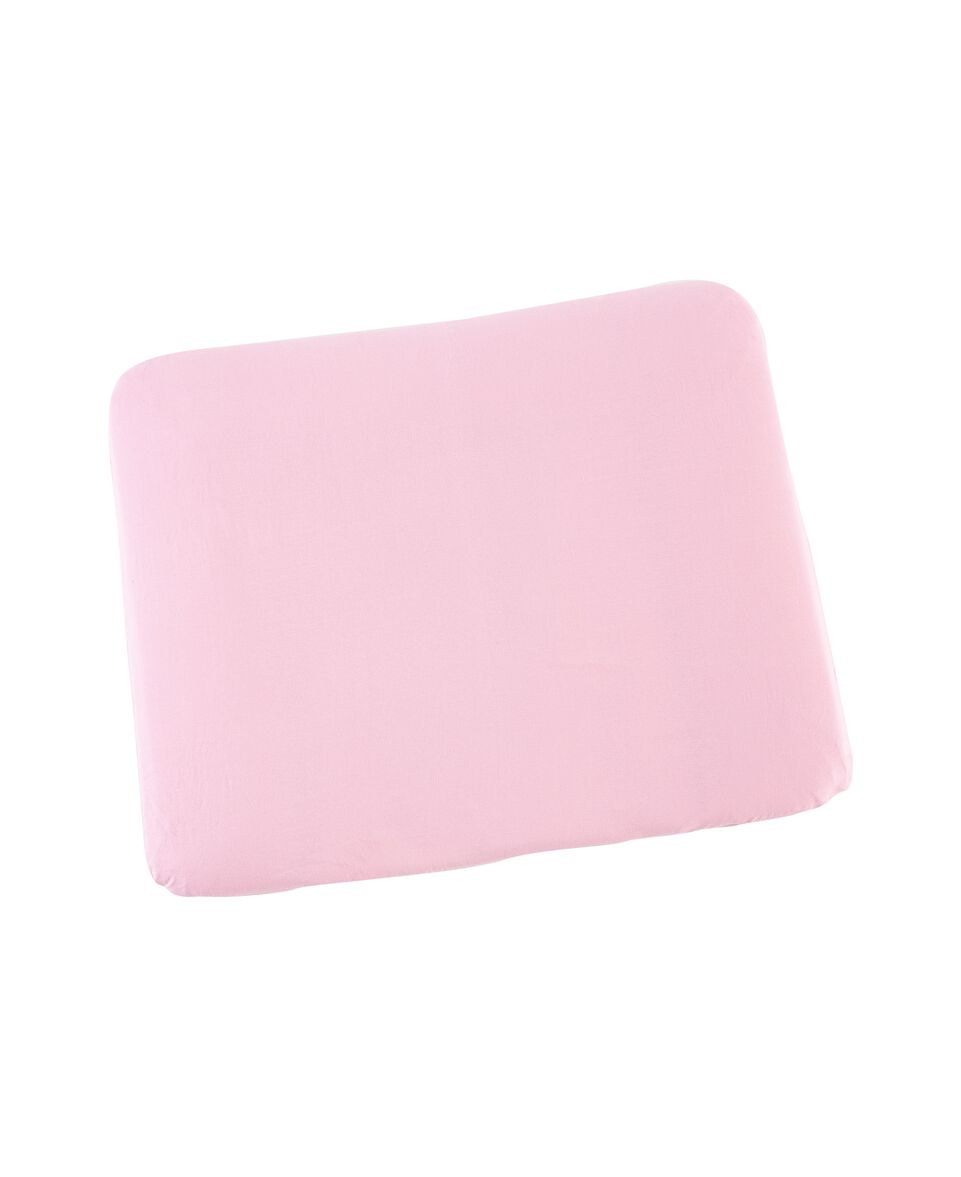 Wickelauflagenbezug Jersey rosa