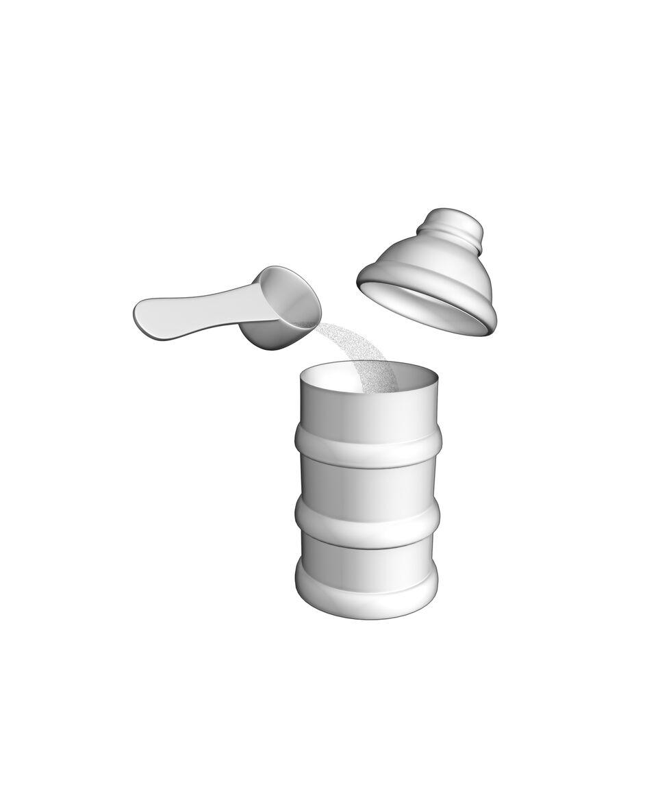 3er Set Milchpulver-Portionierer