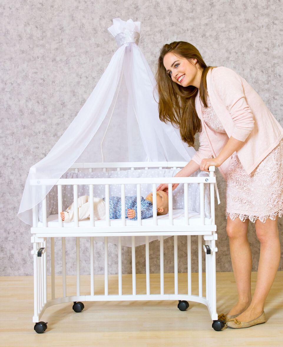 babybay himmelstange. Black Bedroom Furniture Sets. Home Design Ideas