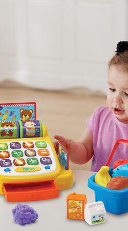 Lern- und Spielkasse mit Zubehör