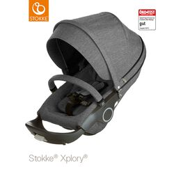 Stokke® Kinderwagensitz Black Melange