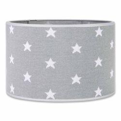 Lampenschirm Star grau / weiß