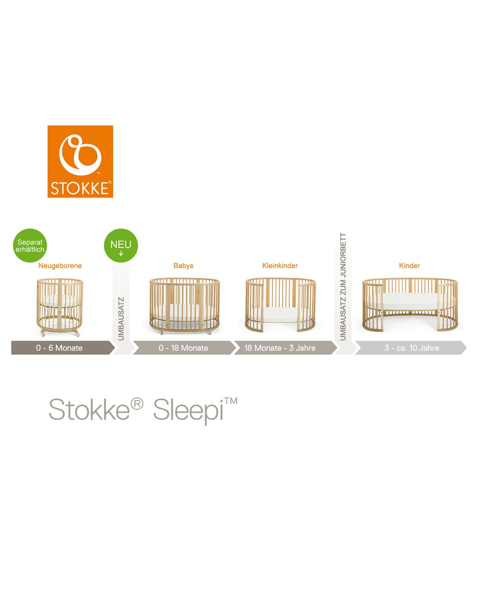 stokke sleepi mini white. Black Bedroom Furniture Sets. Home Design Ideas