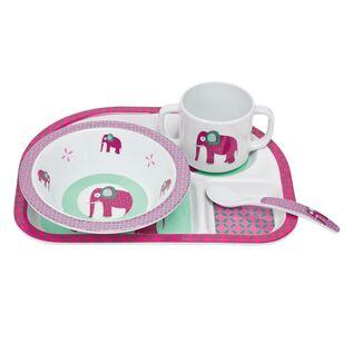 Geschirrset wildlife elephant