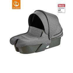 Stokke® Kinderwagen Babyschale black melange