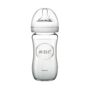 Naturnah-Babyflasche aus Glas 240ml
