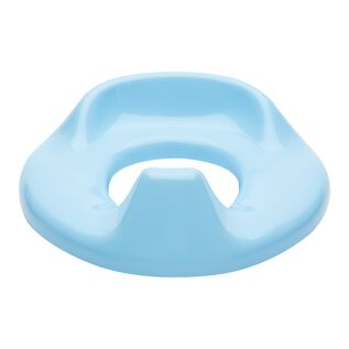 Toilettensitz blau