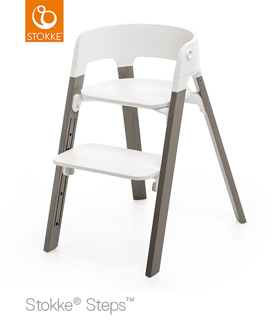 Stokke® Steps™ Stuhlbeine Buche Hazy Grey