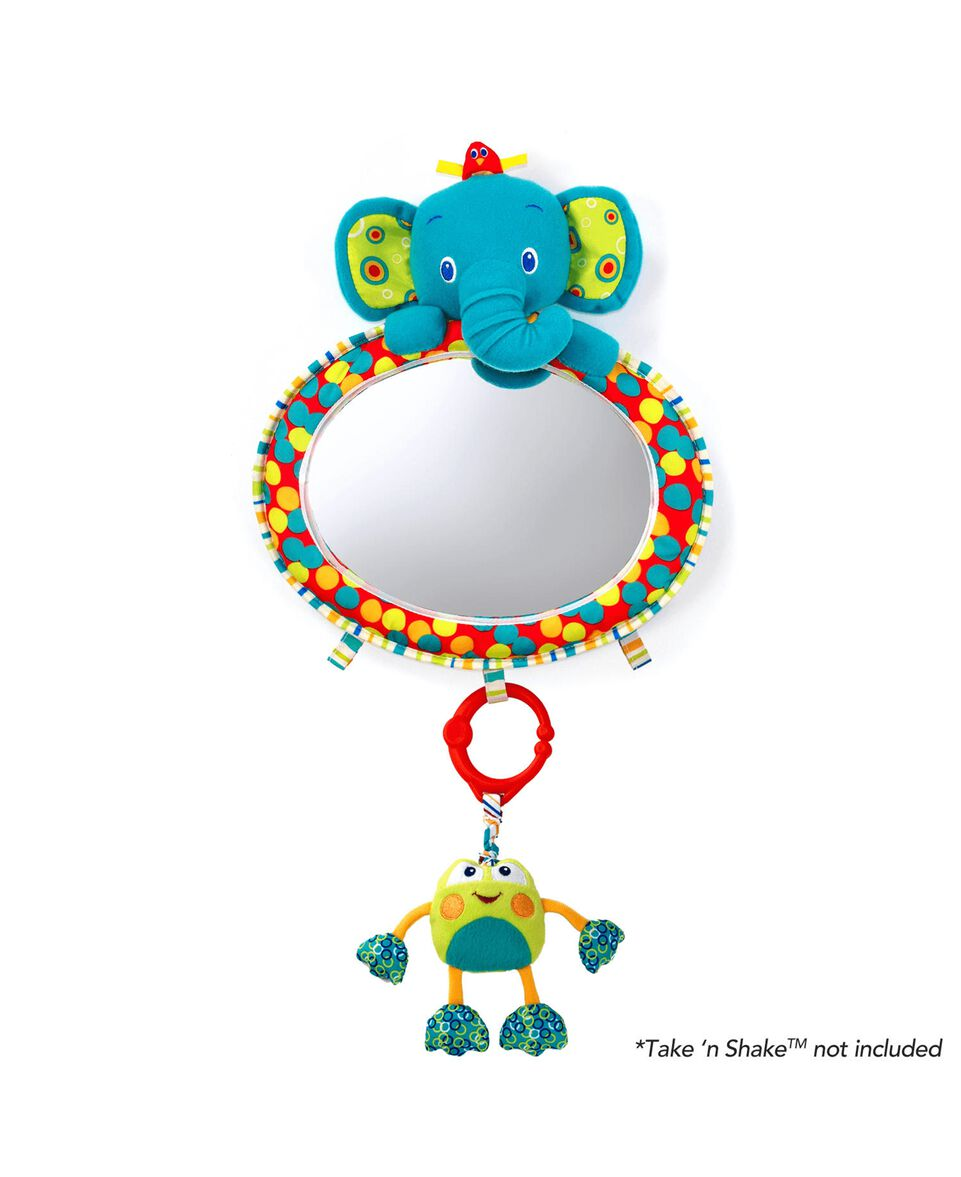 See Play Mirror Elefant