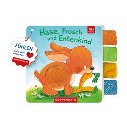 Mein Fühl-Laschenbuch - Hase, Frosch und Entenkind