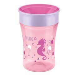 Becher Magic Cup Seepferdchen rosa