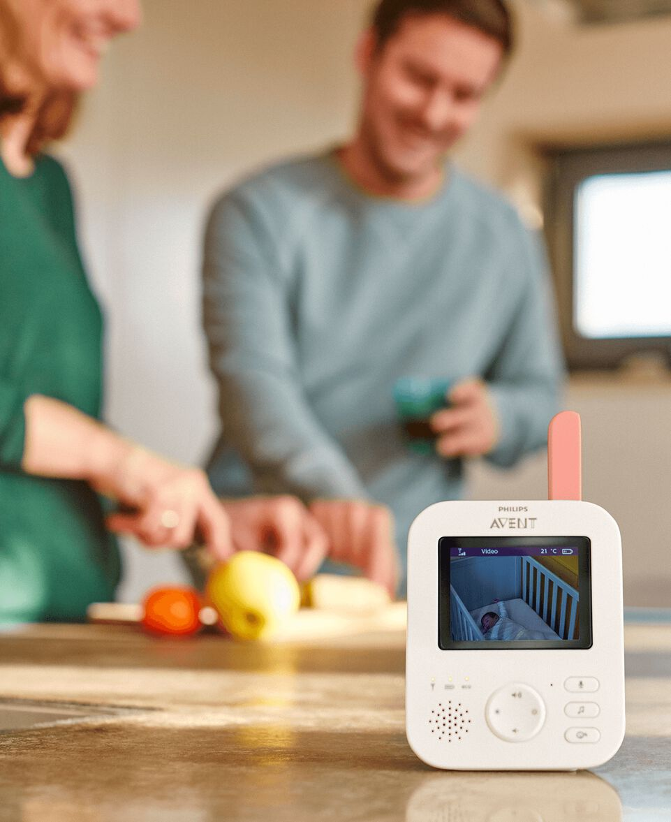 Digitales Video Babyphone SCD625/26