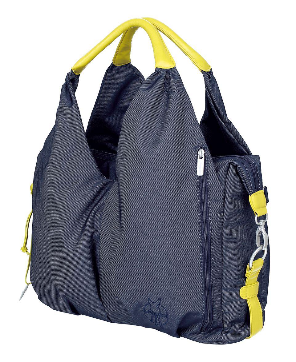 Green Label Neckline Bag blue denim
