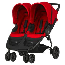 B-Agile Double Flame red 16