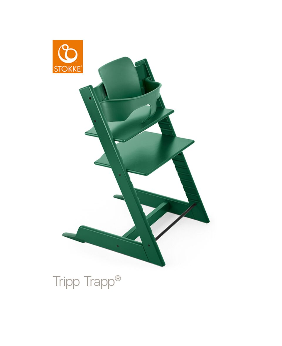 Tripp Trapp® Baby Set forest green