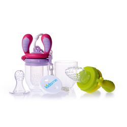 Food Feeder Starter Set Lime/Lavendel 4m+