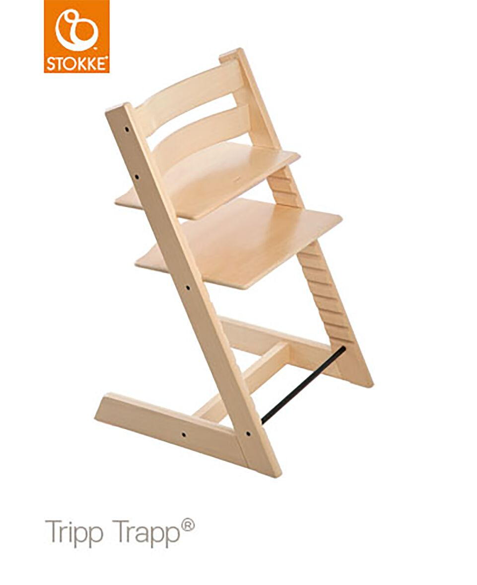 hochstuhl tripp trapp natur. Black Bedroom Furniture Sets. Home Design Ideas