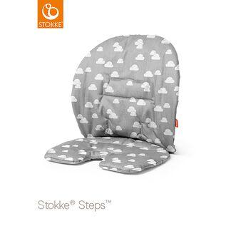 Steps Kissen grey clouds