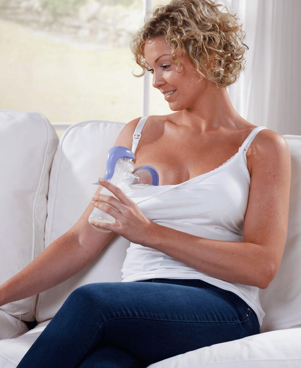 Handmilchpumpe Weithals
